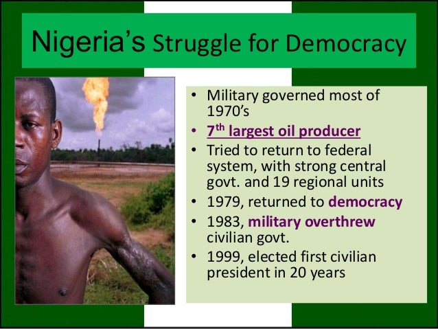 civil society and democracy in nigeria pdf