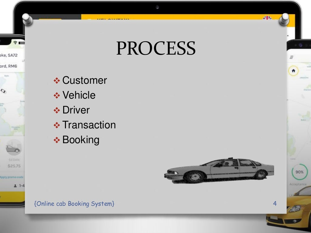 online Cab Booking System PPT Presentation page 4