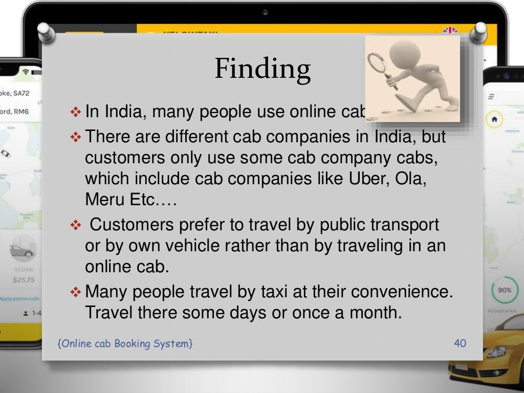 online Cab Booking System PPT Presentation page 40