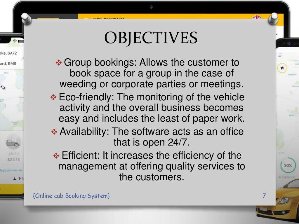 online Cab Booking System PPT Presentation page 7