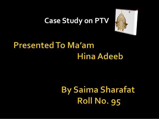 Case Study on PTV
