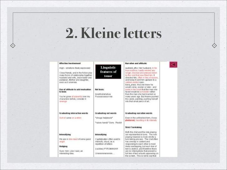 2. Kleine letters