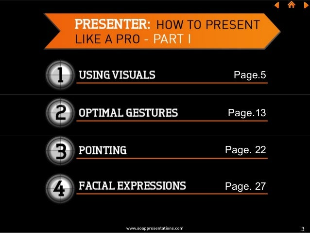 How to Present Like a Pro – Part I Slide 3