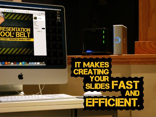 slides fast and efficient. it makes creating your