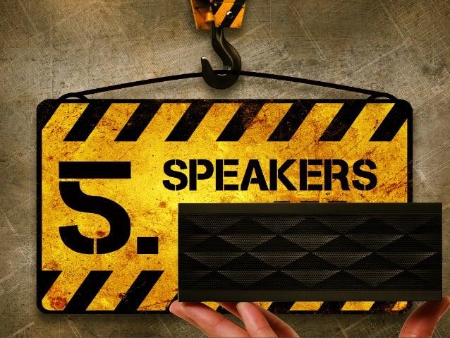 speakers 5.