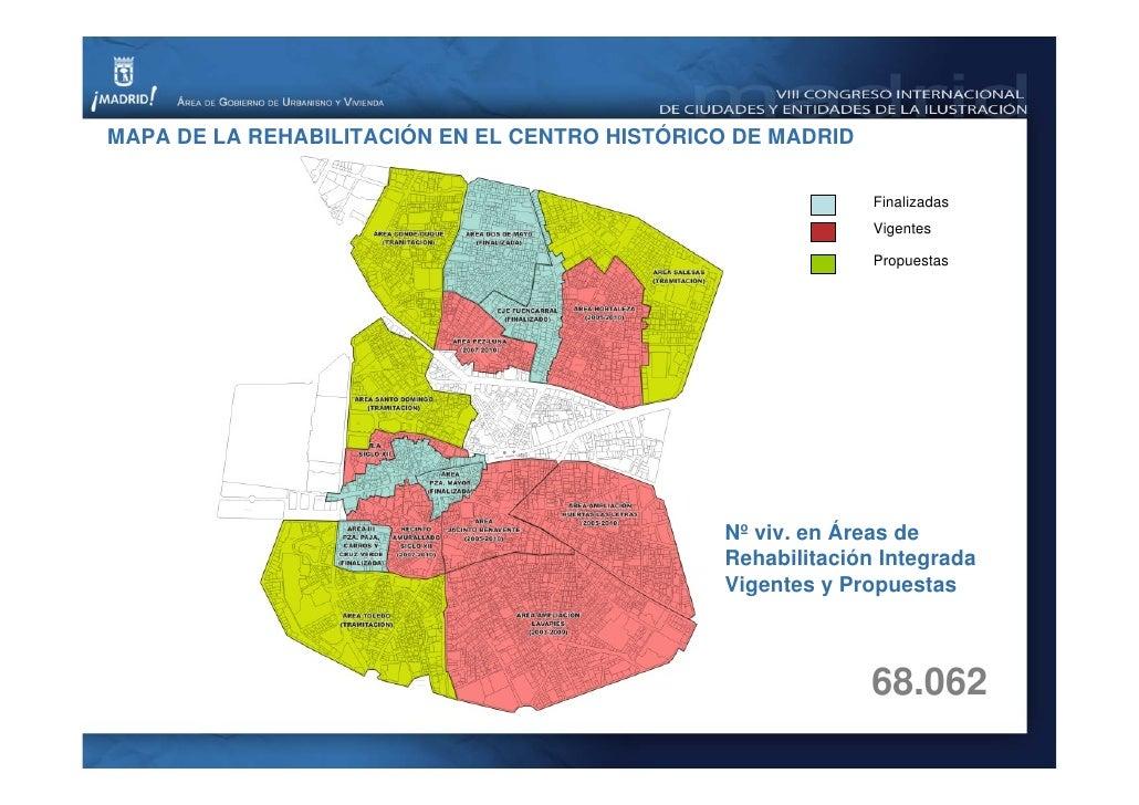 Presente y futuro de la regeneraci n urbana del centro - Centro historico de madrid ...