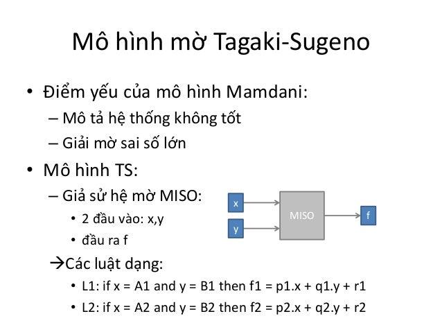 Ứng dụng logic mờ trong bài toán điều khiển