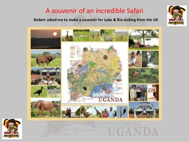 Souvenir and present ideas - Uganda photo maps | Diary of a Muzungu |…