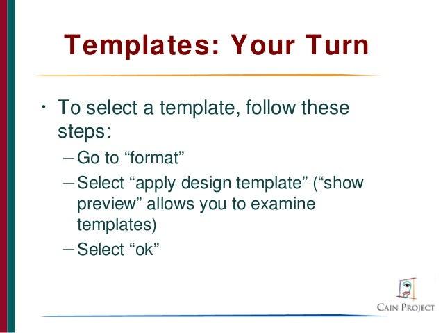 Using powerpoint to design effective presentations templates toneelgroepblik Gallery