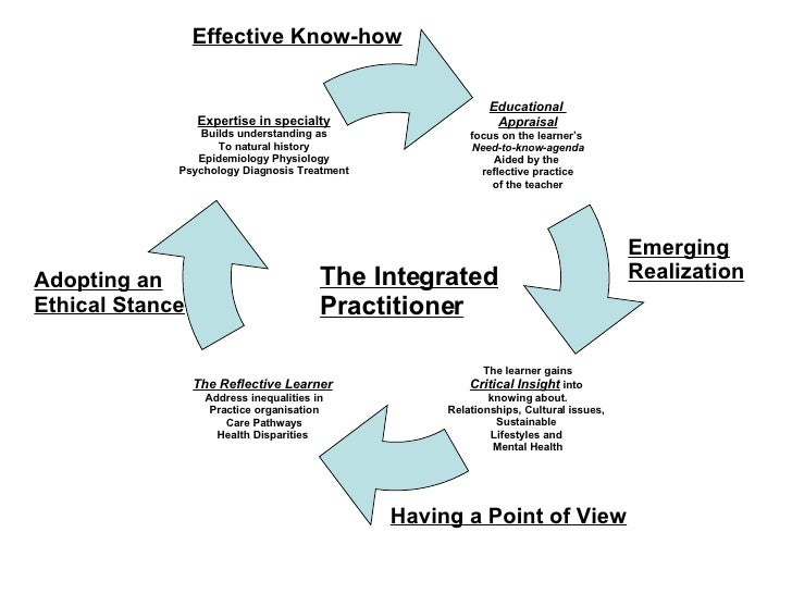 Effective Know-how Emerging Realization Having a Point of View Adopting an Ethical Stance The Integrated Practitioner Educ...