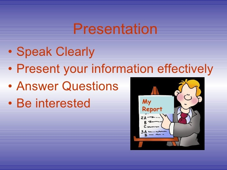 presenting your research paper