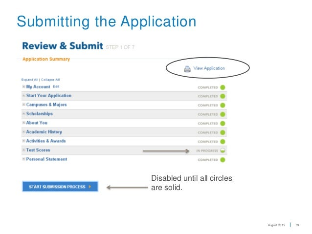uc application In this section, you will find a link to the online application and directions for applicants.