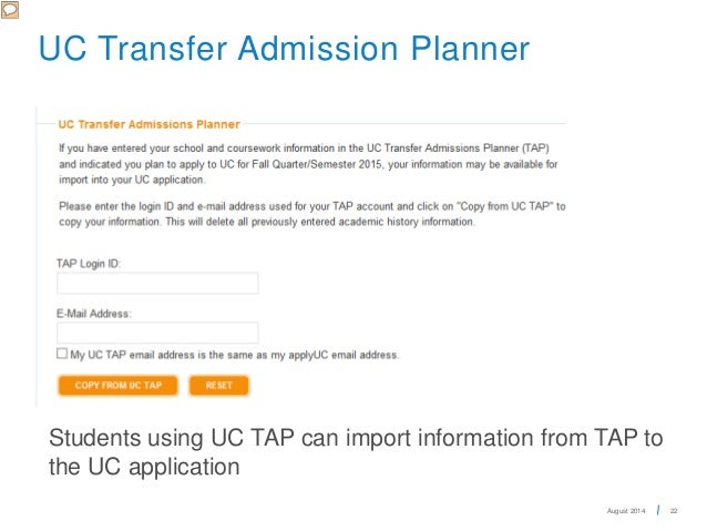 Uc Transfer Application Essay Examples