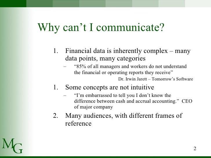 Presenting Financial Statements Slide 2