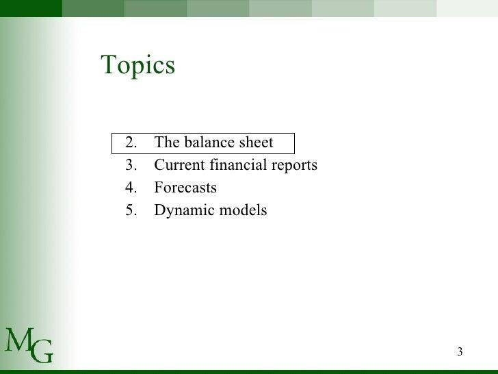 Presenting Financial Statements Slide 3