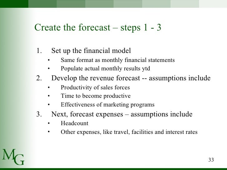 how to write a financial summary report