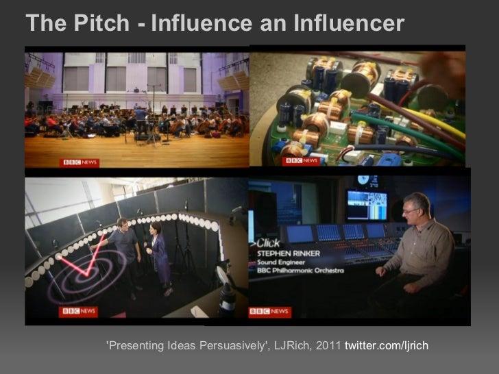 Presenting Ideas Persuasively - LJ Rich Slide 3