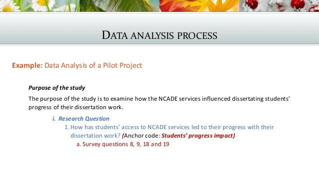 dissertation data analysis findings Many students face difficulties while analysing the collected dissertation data get best dissertation data analysis writing help from experts at cheap rates.