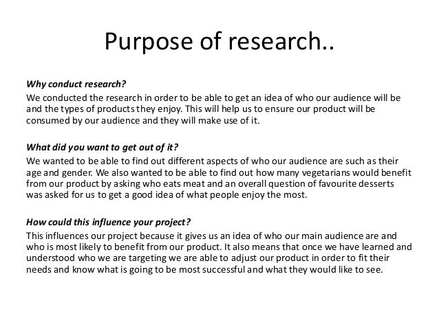 Presenting research Slide 2