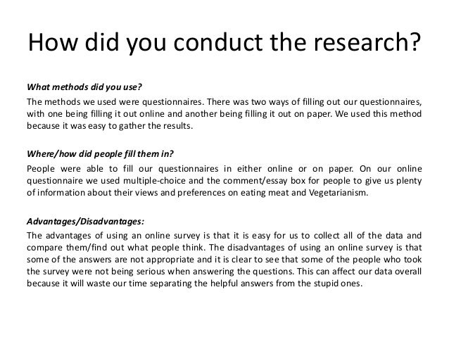 Presenting research Slide 3