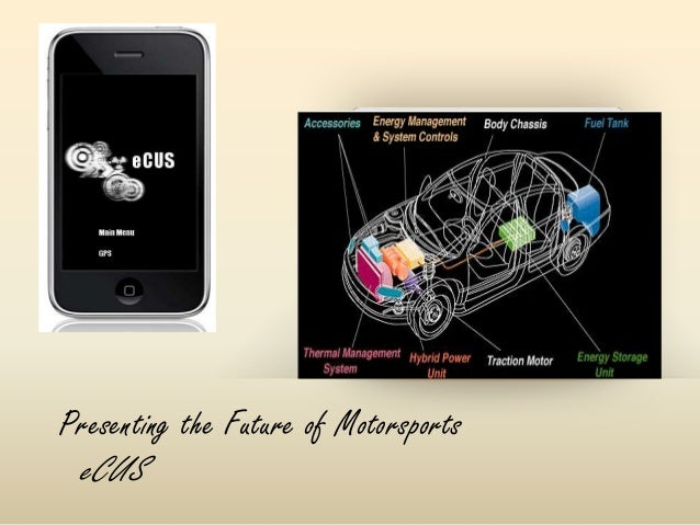 Presenting the Future of Motorsports eCUS