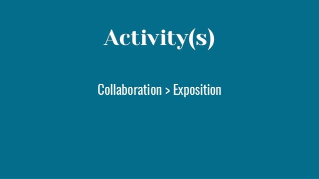 Set expectations for the mode of participation