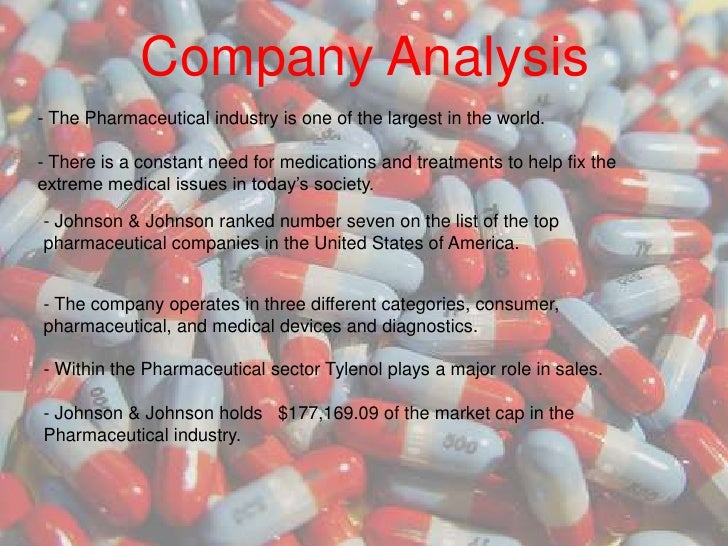 tylenol swot analysis Communication theories  analysis denny's challenger jack in the box  tylenol was responsible for 19 percent of johnson & johnson's corporate profits during the.