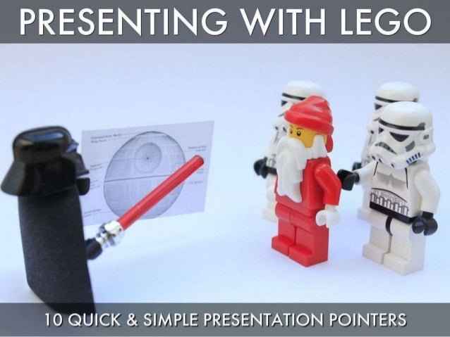 Presenting with Lego - 10 Quick & Simple Tips