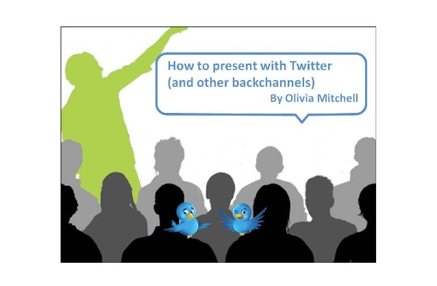 How to present with Twitter http://www.speakingaboutpresenting.com 2This work is licensed under the Creative CommonsAttrib...