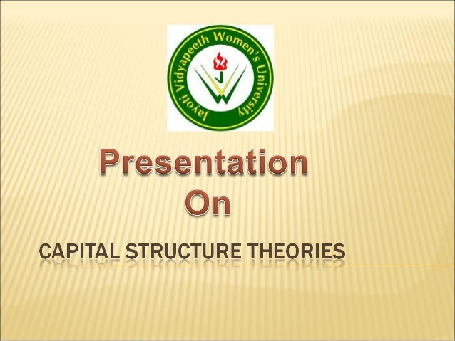 Definition:-Capital Structure refers to thecombination or mix of debt andequity which a company uses tofinance its long-te...