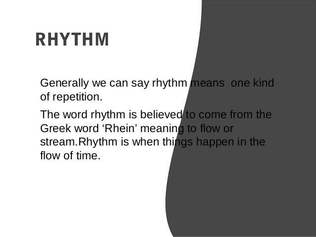 presention on rhythm design principal. Black Bedroom Furniture Sets. Home Design Ideas
