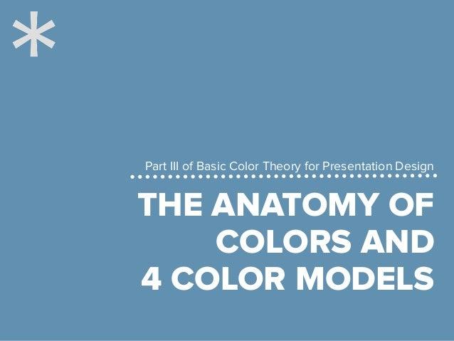 The 4 important color models for presentation design Slide 3