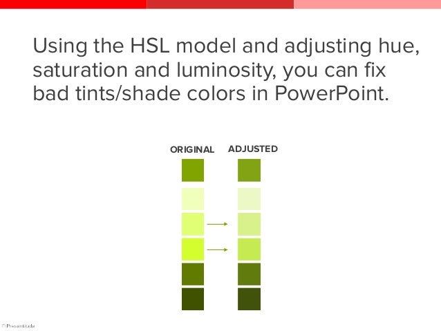The HEX color model Color Model #4