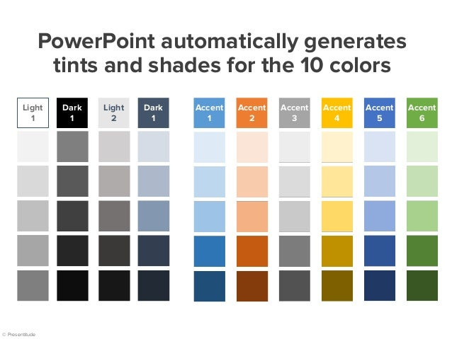 How To Create Your Own Color Theme For Your Powerpoint Presentation