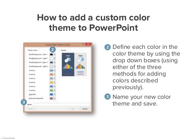 how to add themes in powerpoint