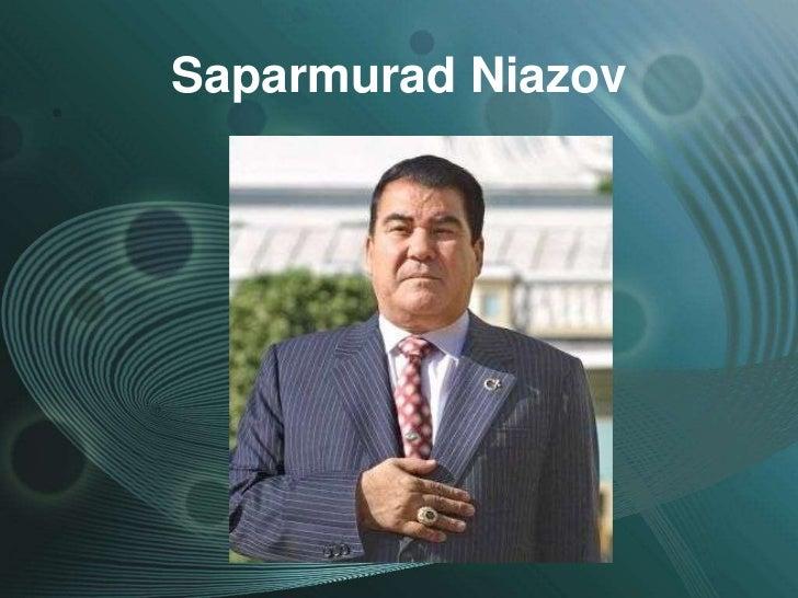 Saparmurad Niazov