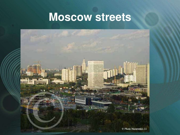 Moscow streets