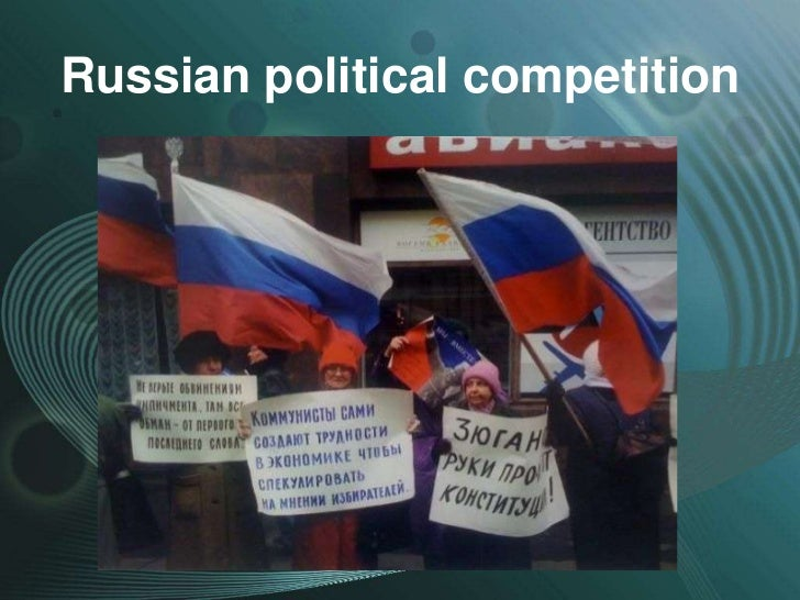 Russian political competition
