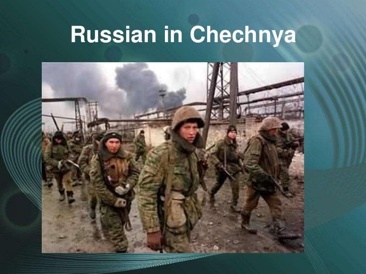 Russian in Chechnya
