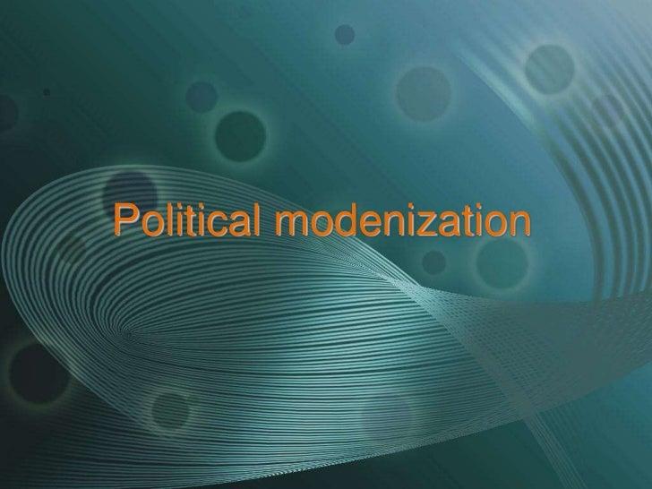 Political modenization