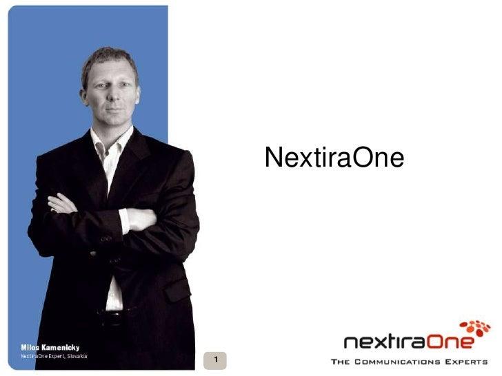 NextiraOne<br />