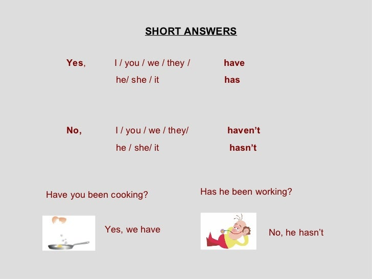 Present perfect progressive tense exercises with answers pdf