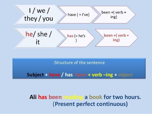 Present perfect simple vs continuous test pdf
