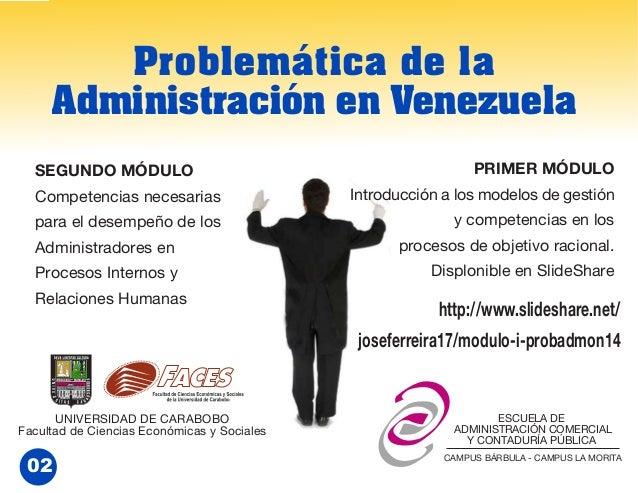 Modulo 2/3. Competencias del Administrador. Prob.Admon.2014 Slide 2