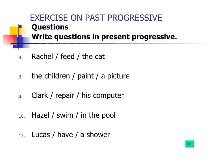 Present Progressive Presentation