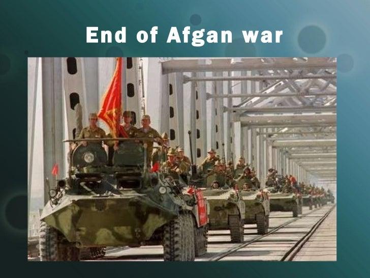End of Afgan war