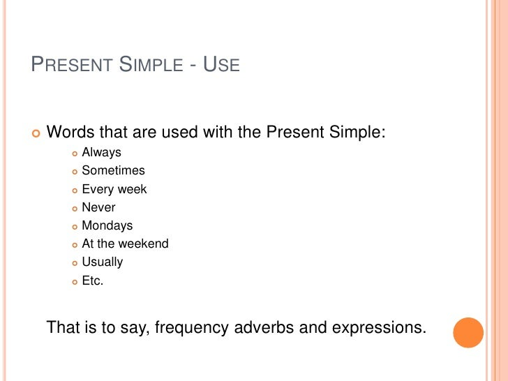 recognizing and using present continuous Learn how to use the present continuous verb tense in english  your browser  does not currently recognize any of the video formats available.