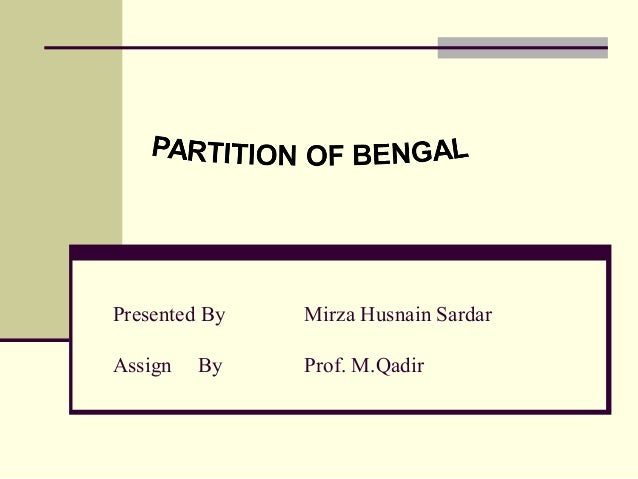 Presented By Mirza Husnain Sardar Assign By Prof. M.Qadir