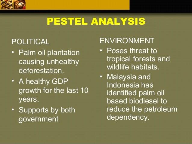 pestel analysis oil palm plantation Political impacts of palm oil plantation references pestel analysis definition of pestel/pestle analysis political, economic, social, technological, legal, and .