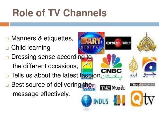 Present tv channels in social development